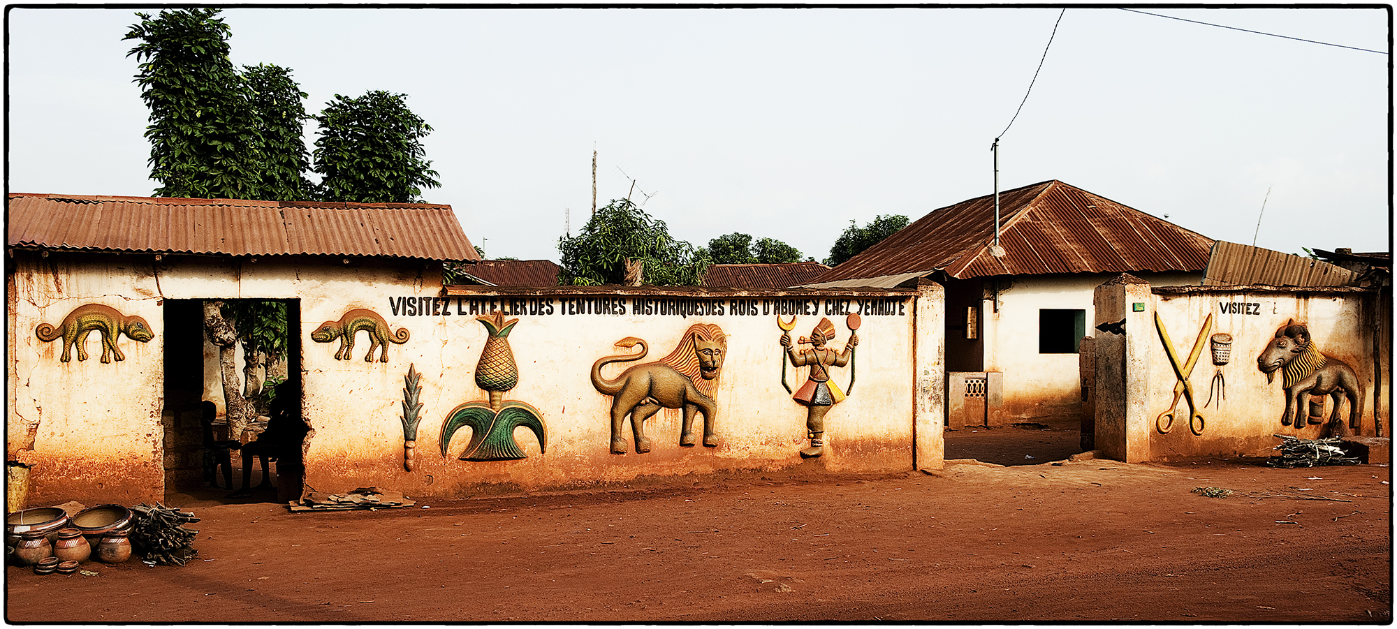 Abomey_royal_palace_wall
